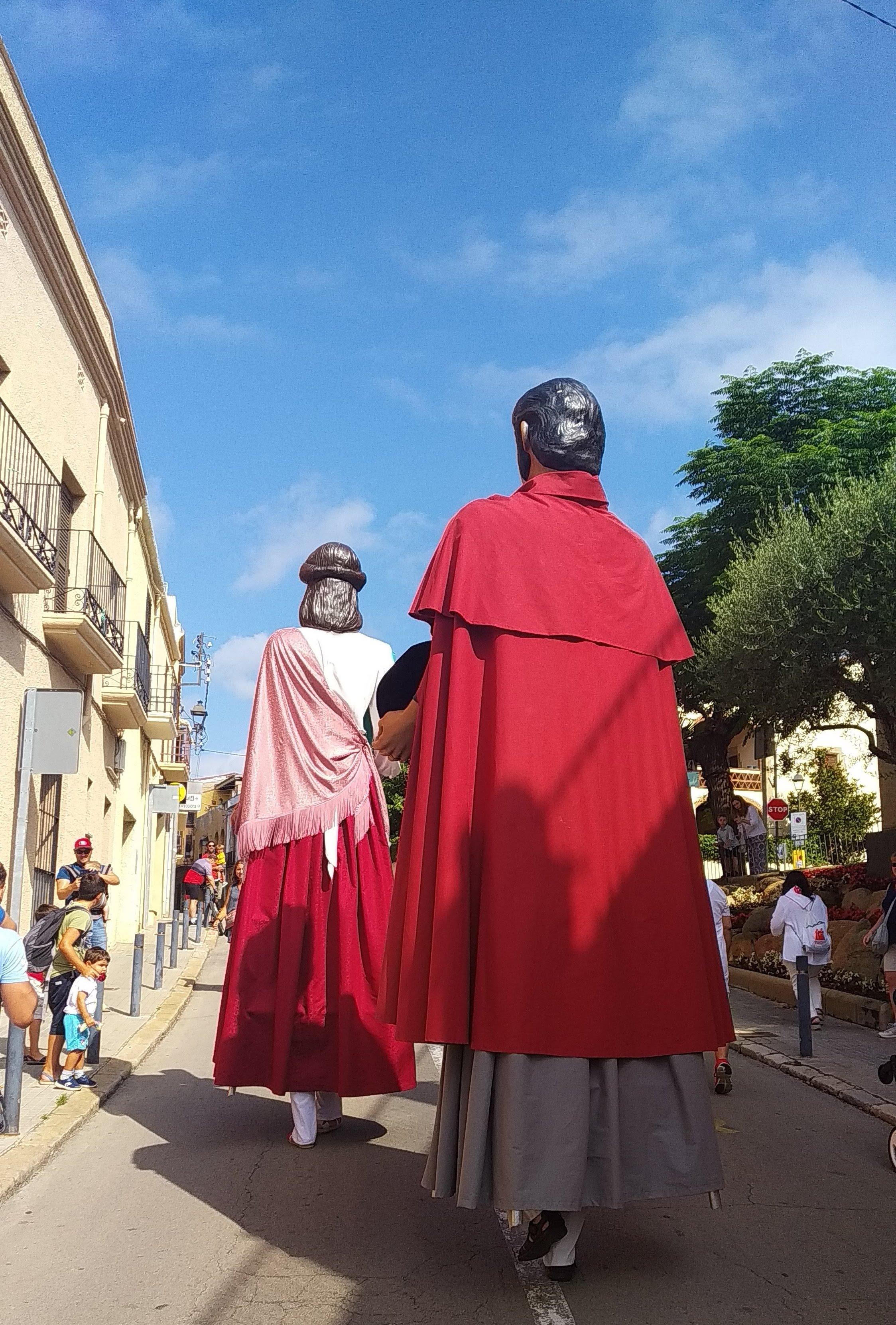 Pujant el carrer St Antoni